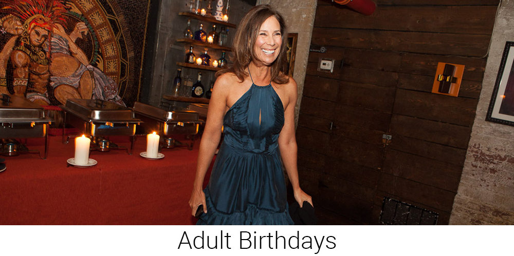 Adult Birthdays - Special Event Photographer