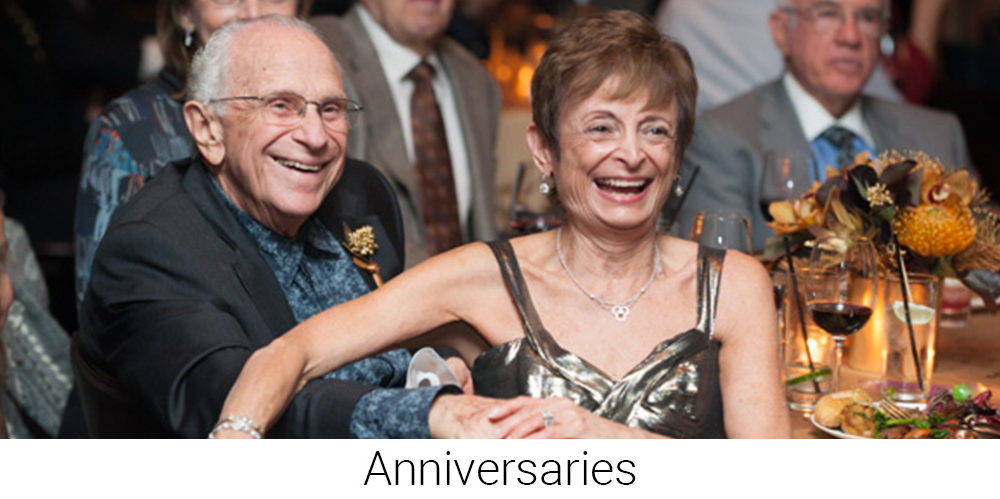 Anniversaries - Special Event Photographer
